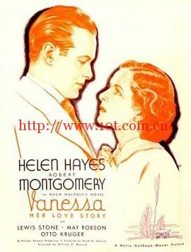 瓦妮莎的爱情故事 Vanessa: Her Love Story (1935)