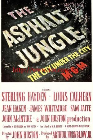 夜阑人未静 The Asphalt Jungle (1950)