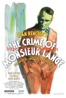 兰基先生的罪行 Le Crime de Monsieur Lange (1936)