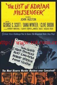 假面凶手 The List of Adrian Messenger (1963)