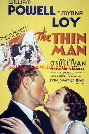 瘦子 The Thin Man (1934)