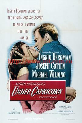 风流夜合花 Under Capricorn (1949)