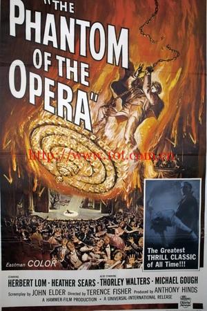 剧院魅影 The Phantom of the Opera (1962)