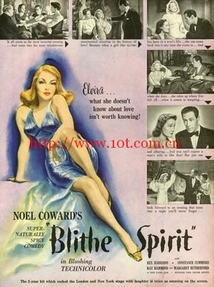 欢乐的精灵 Blithe Spirit (1945)
