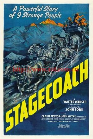 关山飞渡 Stagecoach (1939)