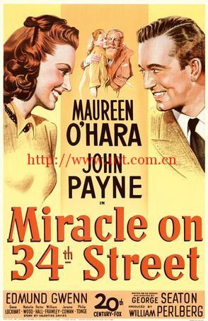 34街奇缘 Miracle on 34th Street (1947)
