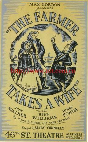 农夫娶妻 The Farmer Takes a Wife (1935)
