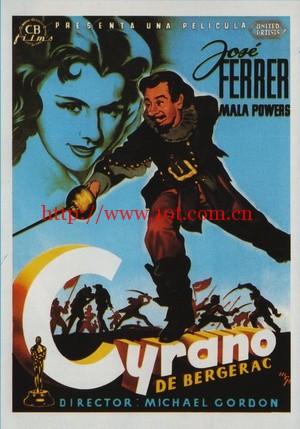 风流剑侠 Cyrano de Bergerac (1950)