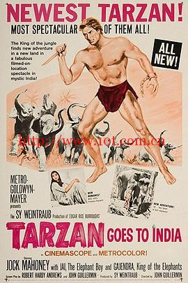 泰山去印度 Tarzan Goes to India (1962)