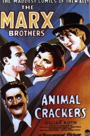 疯狂的动物 Animal Crackers (1930)