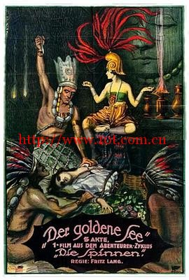 蜘蛛1:黄金湖 Die Spinnen, 1. Teil - Der Goldene See (1919)