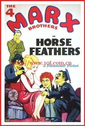 趾高气扬 Horse Feathers (1932)
