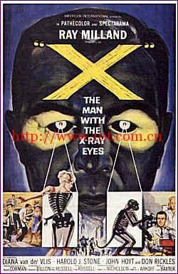 电睛怪客 X (1963)