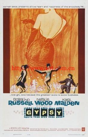 玫瑰舞后 Gypsy (1962)