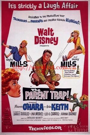 爸爸爱妈妈 The Parent Trap (1961)