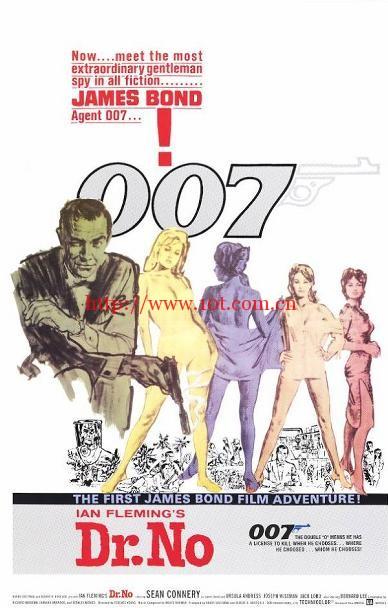 007之诺博士 Dr. No (1962)