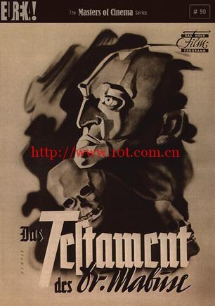 马布斯博士的遗嘱 Das Testament des Dr. Mabuse (1933)