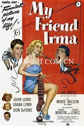 我的朋友伊尔玛 My Friend Irma (1949)-1.96GB-WEB-1080P