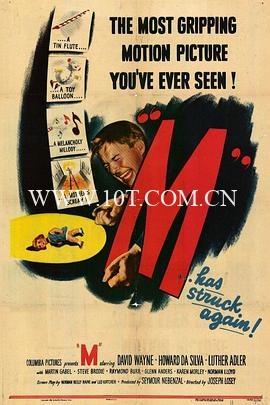 M就是凶手 M (1951)-1.07GB-BluRay-720P